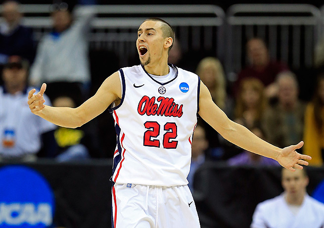 Marshall Henderson was a prolific and polarizing figure for Ole Miss last season.