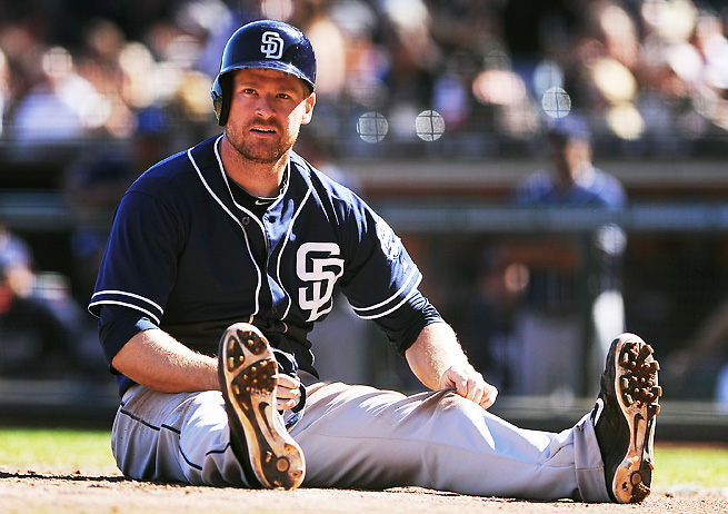 Chase Headley played most of the season with knee pain, which led to an underwhelming year.