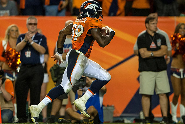 Trevathan had been a breakout star for the Broncos defense in the absence of the suspended Von Miller.