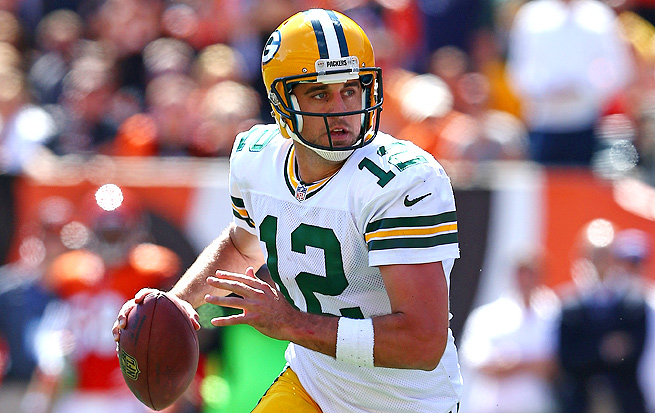 After just 244 passing yards against Cincinnati, Aaron Rodgers will rebound against Detroit this week.