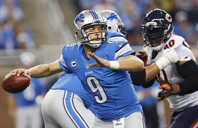 The Lions are one of the biggest risers this week thanks to Matthew Stafford and his quick release.