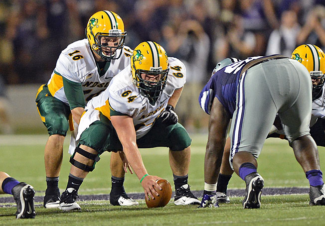 North Dakota State is currently 4-0 with key wins over Kansas State (above) and South Dakota State.