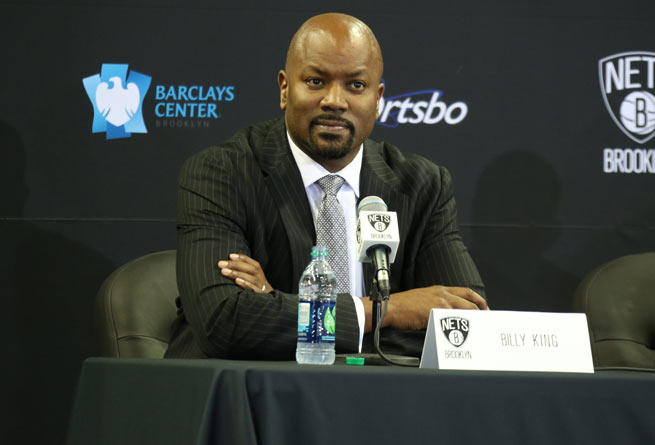 Billy King and the Nets are focused on a winning a title this season and nothing else.