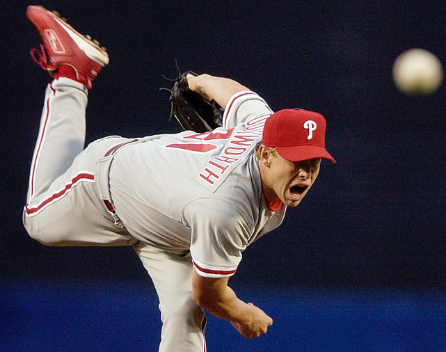 Duckworth was a starting pitcher for the Philadelphia Phillies, Houston Astros and Kansas City Royals from 2001-2008. He had 23 wins and a 5.28 ERA for his career.