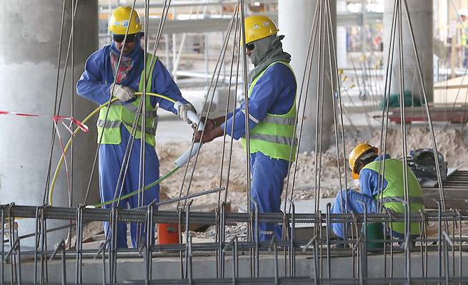 The 2022 World Cup has faced issues over Qatar's stifling summer heat and workers' rights concerns.