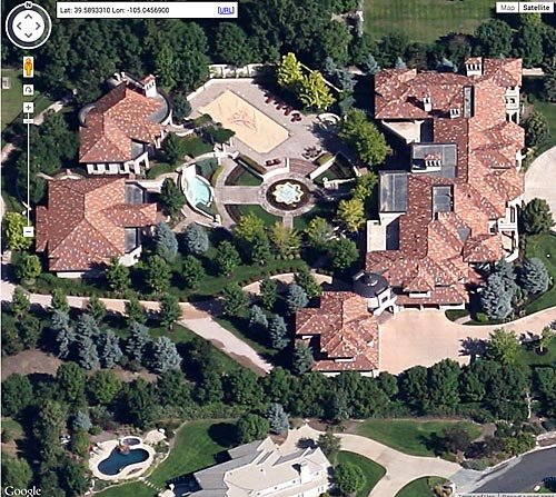 Melo sold this Colorado mansion after he got traded from the Nuggets to the Knicks in 2011.