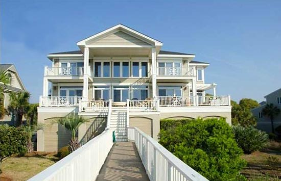 Petty's South Carolina beach house was listed at $3.5 million in 2011.  It boasts more than 4,000 square feet.