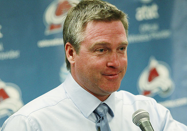 Patrick Roy drew the ire of the Anaheim Ducks' coach by constantly yapping during the game.