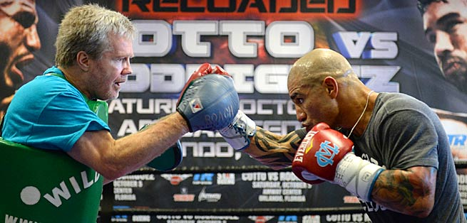 Freddie Roach (left) has called his camp with Miguel Cotto the best he's ever been a part of.
