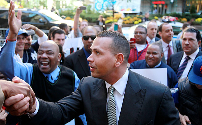 The hearing of Alex Rodriguez's appeal of the 211-game suspension he received in August began this week.