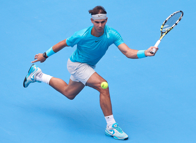Rafael Nadal advanced to the China Open final on Saturday, securing the No. 1 world ranking as well.
