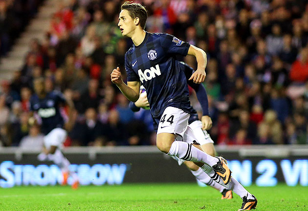 The 18-year-old Januzaj scored in the 55th minute and in the 61st with a left-footed volley.
