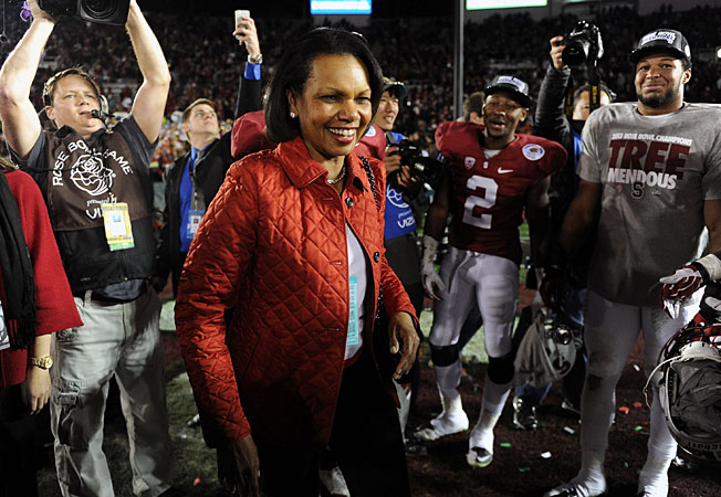 Former Secretary of State Condoleezza Rice is expected to join the College Football Playoff committee.
