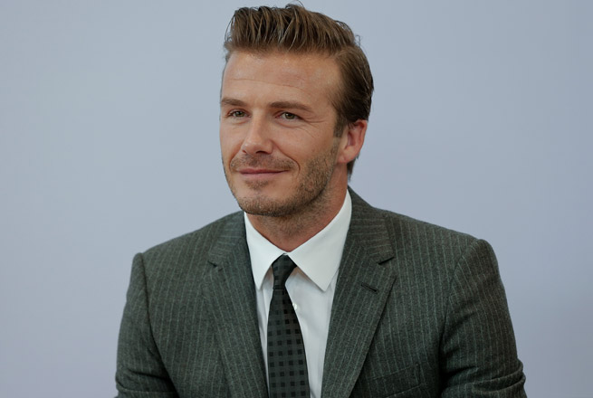 David Beckham's endorsement portfolio went up 10 percent since 2012.