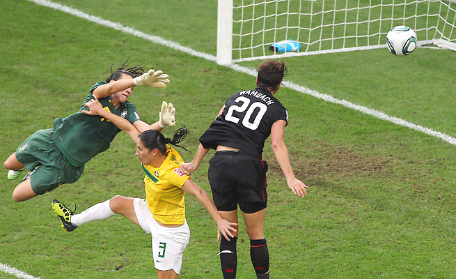 The last time the U.S. and Brazil met, Abby Wambach's stoppage-time header helped send the Americans through in the 2011 Women's World Cup quarterfinals.