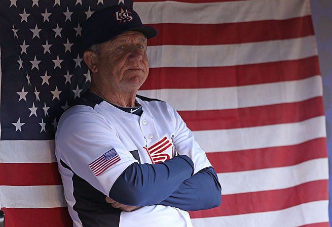 Larry Bowa, once the Phillies manager, was Team USA's bench coach during the WBC.