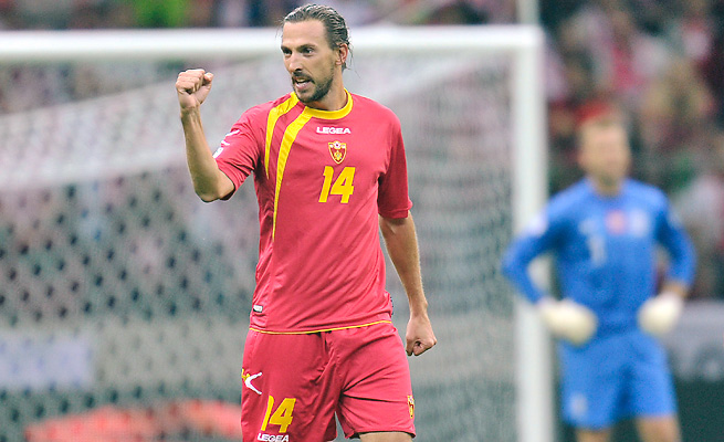 Dejan Demjanovic hopes to make Montenegro the smallest country to ever qualify for a World Cup final.
