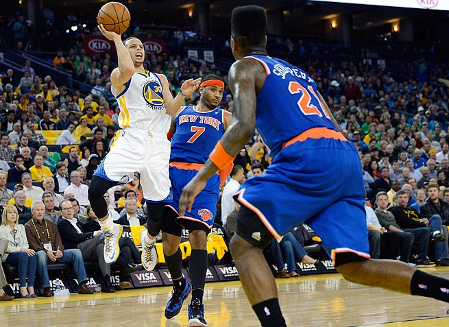 Guard Stephen Curry averaged 22.9 points last season and shot 45.3 percent from three-point range.