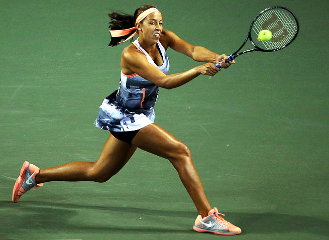 Madison Keys cruised past Shuai Zhang 6-3, 6-0 to reach the quarterfinals of the Japan Open.