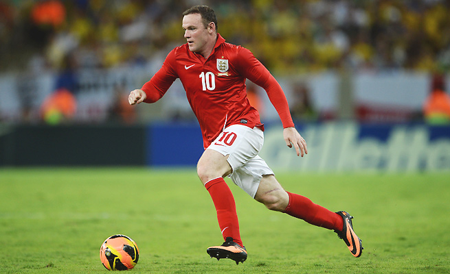 Wayne Rooney has earned 84 caps with the English national team since his debut in 2003.