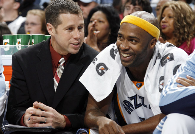 David Joerger served as an assistant with the Grizzlies for six seasons before becoming head coach.