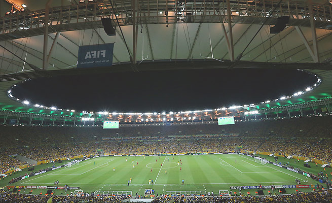 FIFA received more than 750,000 requests for tickets to the World Cup final at Maracana Stadium.