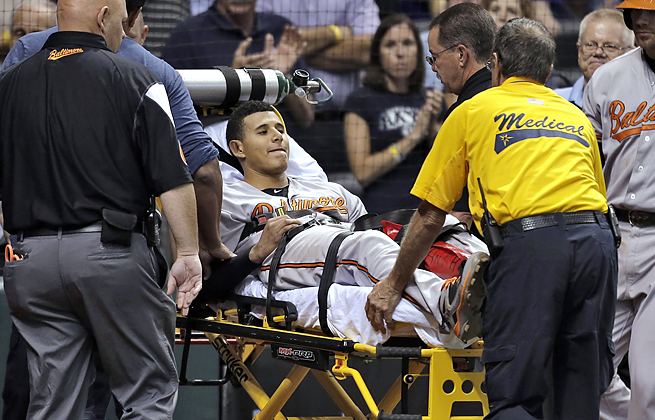 Manny Machado expects to be ready for spring training after undergoing knee surgery.