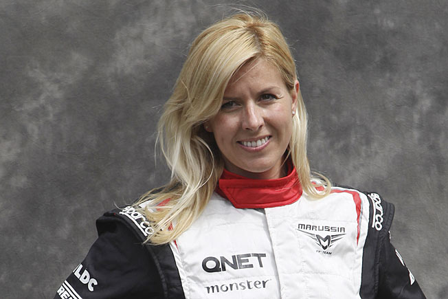 Mario de Villota had spent a month in the hospital after her crash during a test run a year ago.