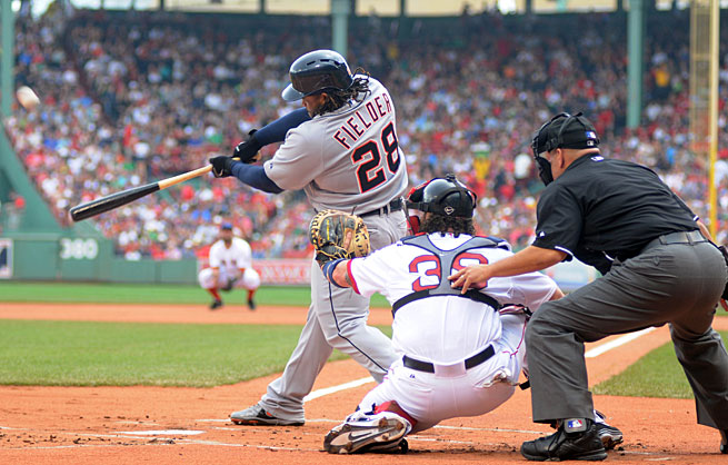 To reach a second straight World Series, Prince Fielder and the Tigers must win at least one game at Fenway Park.