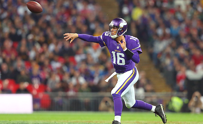 Matt Cassel threw for 248 yards with two touchdowns and no picks in last week's win over the Steelers.