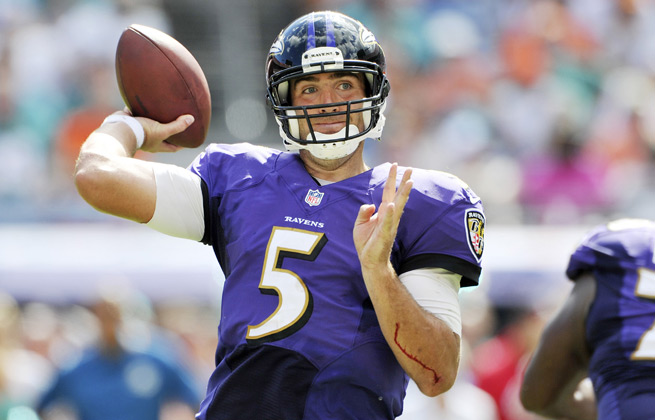 Joe Flacco faces a Packers defense allowing almost 300 passing yards a game in Week 6.