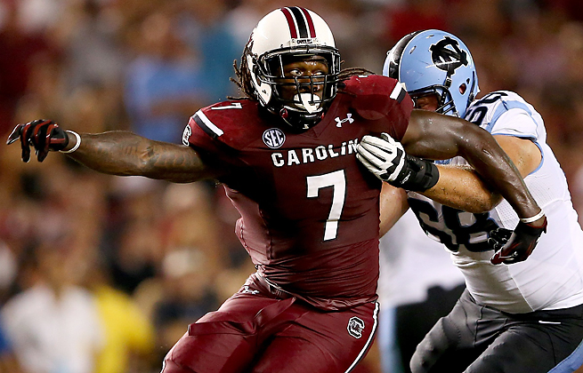 Jadeveon Clowney has been a consistent topic for ESPN analysts, who have praised and criticized him.