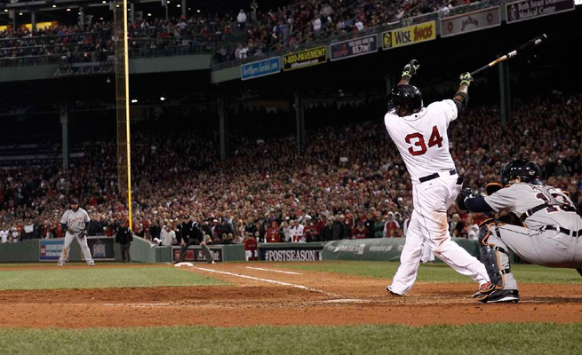 David Ortiz added to his legend with another big hit: an eighth-inning grand slam against the Tigers.