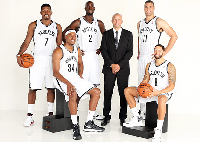 New Nets coach Jason Kidd's projected starting lineup has combined for 35 All-Star appearances.