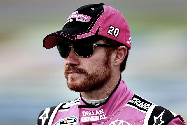 Brian Vickers was treated for blood clots in 2010 and missed 25 races.