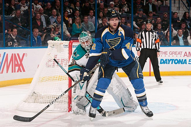 David Backes' Blues and Antti Niemi's Sharks are emerging as formidable Western powers.