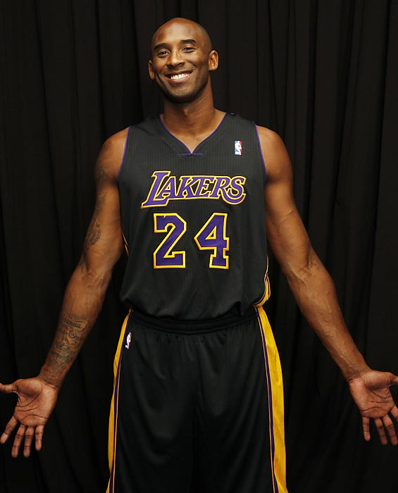 Kobe Bryant's career is built on focus and insane dedication to his craft. He still brings that mentality to his rehabilitation for an Achilles injury, but for his SI cover shoot, he showed off his lighter side. Here are some outtakes of Bryant from his recent photo shoot.
