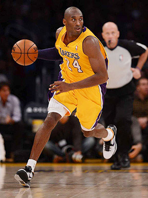Kobe Bryant on his postsurgery game: 'Maybe I won't have as much explosion. ... But I have other options. It's like Floyd Mayweather in the ring. There's a reason he's still at the top after all these years.'