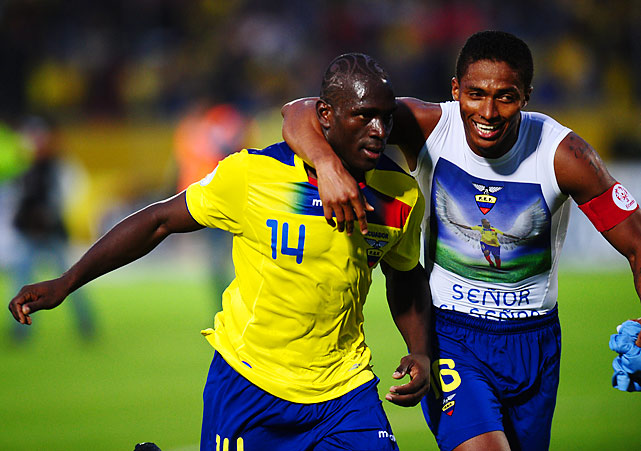 Ecuador qualified for the 2014 World Cup after missing out of the 2010 event. The team will head to Brazil after showing strong near the start of the qualifying campaign, which helped it overcome poor results in their final two games (including a 2-1 loss to Chile on the final day of qualifying).