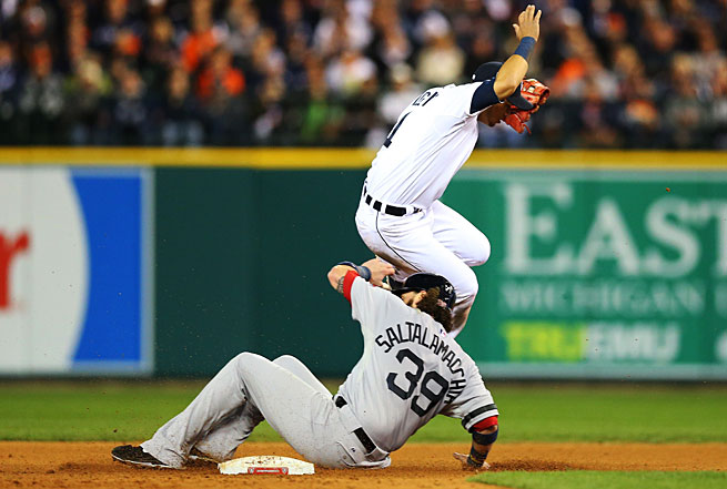 The ALCS between Jarrod Saltalamacchia's Red Sox and Jose Iglesias' Tigers has been very evenly matched.