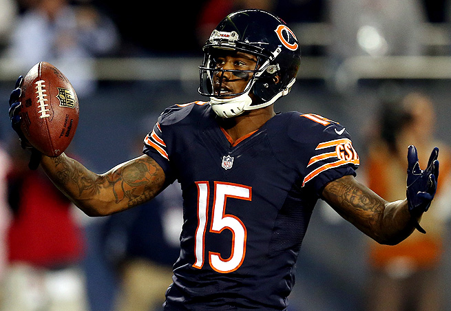 Brandon Marshall caught nine passes for 87 yards and two touchdowns against the Giants in Week 6.