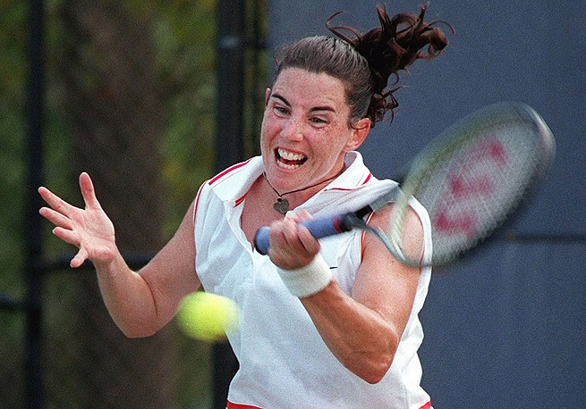 Rene Simpson was the captain of Canada's Fed Cup team from 2001 until '09.