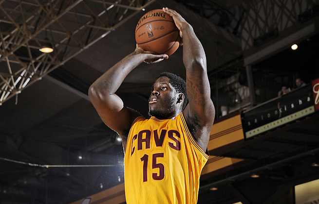 Anthony Bennett was drafted out of UNLV first overall out by the Cavaliers in June's NBA draft.