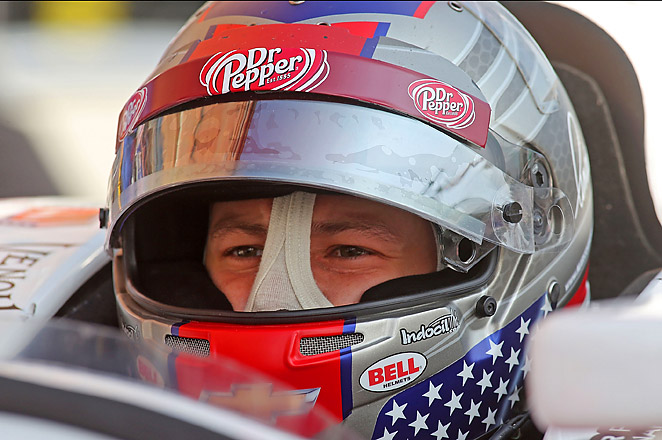 Marco Andretti, a third-generation racer, goes into the finale ranked a career-best fifth in the standing.