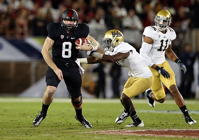 Kevin Hogan and Stanford will look to bounce from last week's upset loss this Saturday against UCLA.