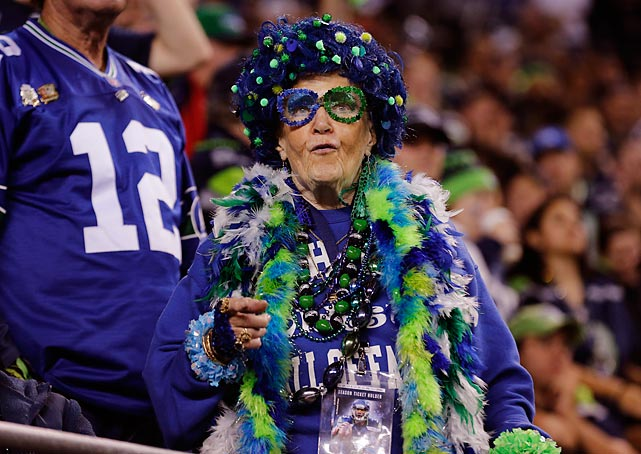 High fashion at CenturyLink Field in Seattle.