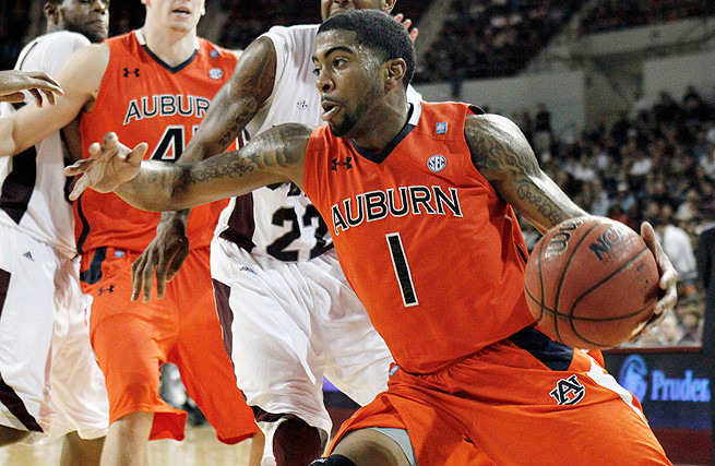 Former Auburn player Varez Ward was accused of point-shaving during a January 2012 game against Arkansas.