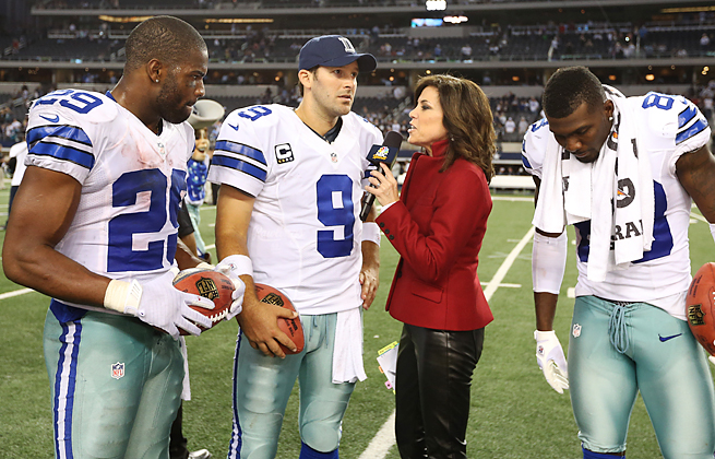 Michele Tafoya is in her third season with Sunday Night Football after 11 years with ESPN.