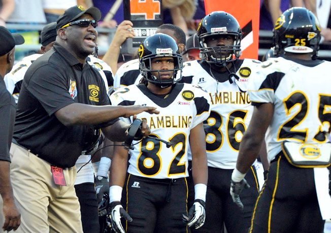 The firing of coach Doug Williams (left) was one of the grievances listed by Grambling State's players.