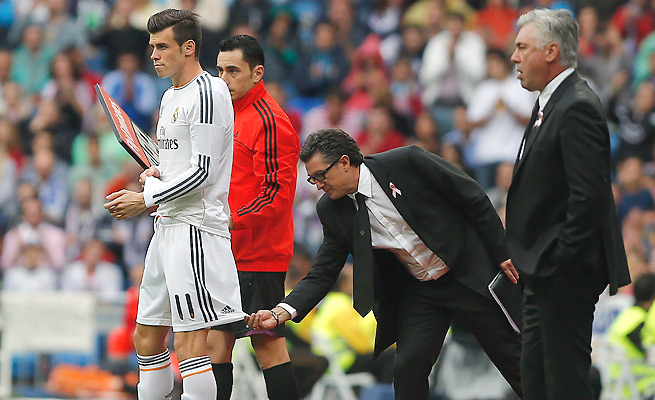 Injuries have limited Gareth Bale's playing time since his record transfer to Real Madrid last month.